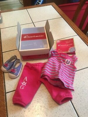 "American Girl 18"" Doll Campus Casual Outfit NIB NEW IN BOX 2010 Retired."
