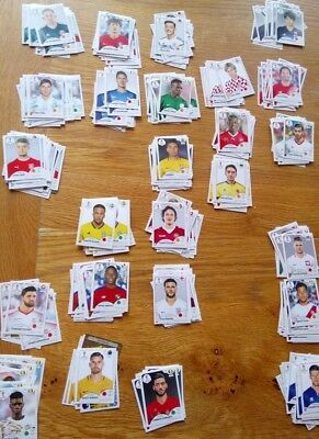 5 Panini FIFA World Cup 2018 Stickers - Choose from list