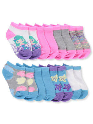 Limited Too Baby Girls' 8-Pack Ankle Socks
