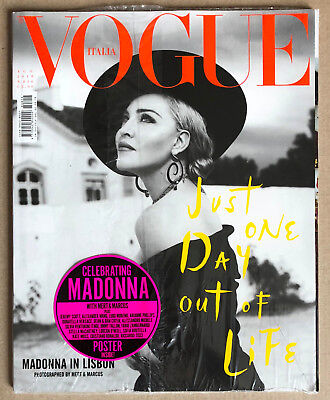 Madonna Exclusive * Vogue Italia - B/w Cover * Aug 2018 * Mert & Marcus