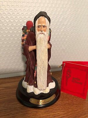 Vintage Duncan Royale  Santa Claus Midevil Figurine 2nd Edition