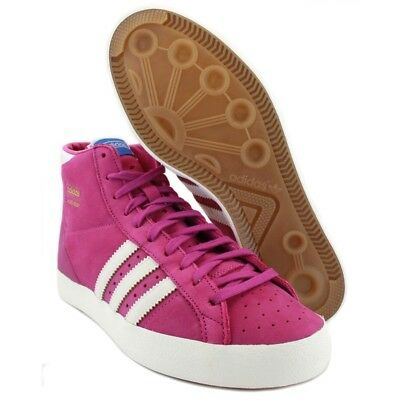 premium selection fa9e7 40867 Adidas Originals Basket Profi W Suede 1970 s Retro Q23188 Pink EU 37 1 3 UK