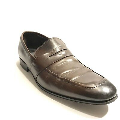 110737725c7 To Boot New York Men s Senato Brown Leather Penny Loafer Shoes Size US 8M