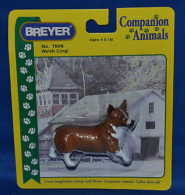 Breyer~1999-2006~Tan & White Welsh Corgi~Dog~Companion Animal~NEW