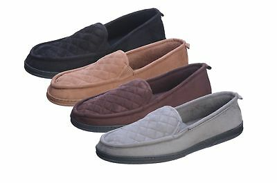 Roxoni Mens Suede Loafer Slippers; an Elegant Comfort Moccasin Winter House...