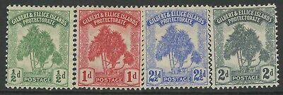 Gilbert & Ellice Island, Mint, #8-11, Og Lh, Cs/4, (1) Shown, Very Nice Set