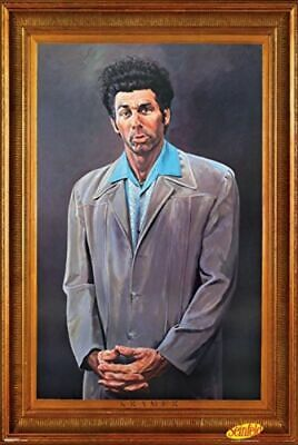 KRAMER - PAINTED PORTRAIT - SEINFELD POSTER 24x36 - TV 867291