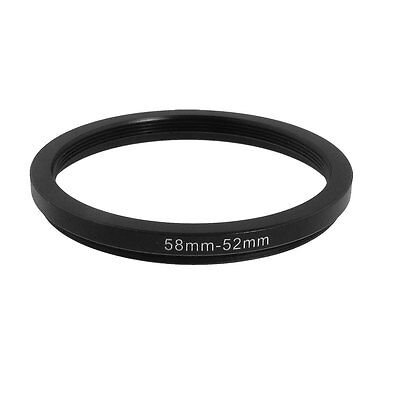 58mm-52mm 58mm to 52mm  58 - 52mm Step Down Ring Filter Adapter for Camera Lens