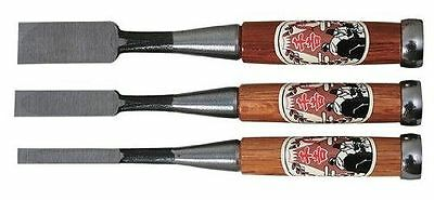 Japanese Chisel Nomi Carpentry Tool SET of 3 Japan