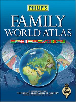 Family World Atlas By Philip's
