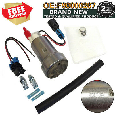 Walbro TI E85 Racing Fuel Pump In Tank F90000267 450LPH Replacement W-Install