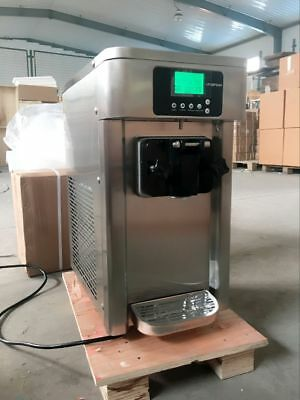 USED Commercial 110V Soft Serve Ice Cream  Machine Frozen Yogurt Making Maker