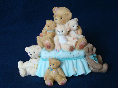 Cherished Teddies - Jill - Girl / Stuffed Bears Figurine - 199869 - 2001