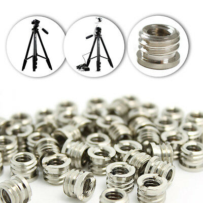 """5pcs 1/4"""" to 3/8"""" Convert Screws Adapter for Tripod and camera and quick X8K5"""