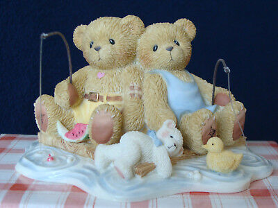 Cherished Teddies - Owen & Jared - 2003 Club Exclusive - 111574