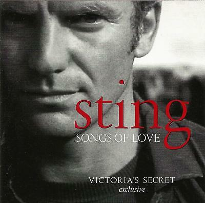 Sting Songs of Love Victoria's Secret exclusive CD