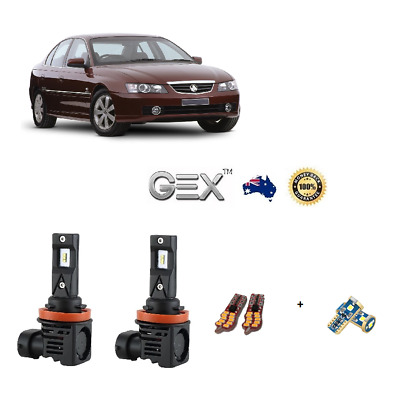 For Holden Commodore VZ VY Belina Calais LED Low Beam Headlights Conversion Kit