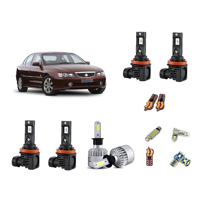 For Holden Commodore VZ VY Belina Calais LED Headlights Interior Conversion Kit