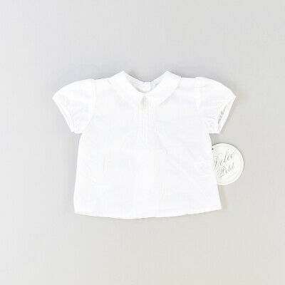 Camisa color Blanco marca Dolce Petit 3 Meses