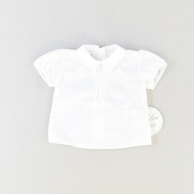 Camisa color Blanco marca Dolce Petit 3 Meses  513874