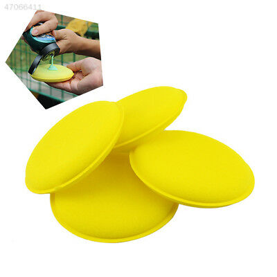 12pcs Car Vehicle Waxing Polish Foam Sponge Wax Cleaning Washing Detailing Pads