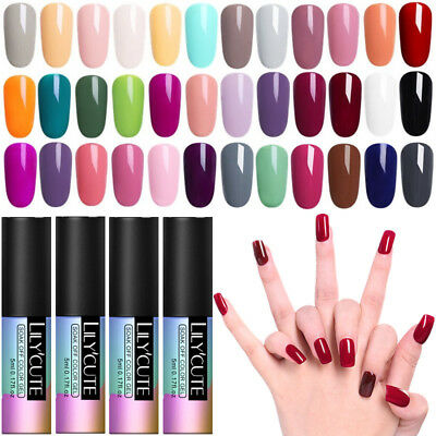 5ml Couleurs Pures Nail Art Vernis à Ongles UV Gel Polish Manucure Tips Salon