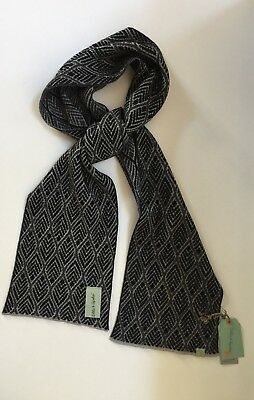 Otto & Spike Men's Scarf Ethical Clothing Made In Melbourne 100% Merino Wool