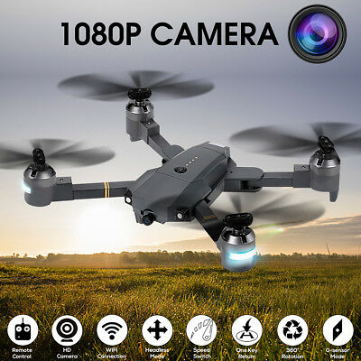 Attop XT-1 WIFI 2.4G 6-Axis Gyro FPV 1080P Wide Angle Camera RC Quadcopter RTF