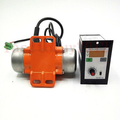 Vibration Vibrate Motor 25-70W DC 12/24/36V+Display Controller for Food Machine