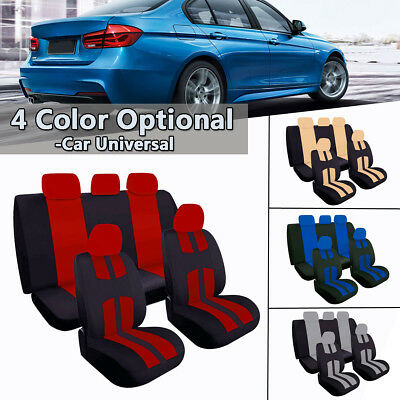 Car Seat Covers Protectors Universal Washable Dog Pet Front Rear Full Set Cover