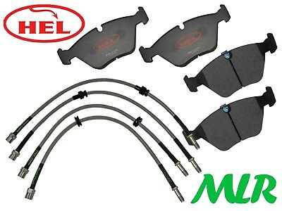 Hel Performance Bmw 3 Series E46 330 Track Day Front Brake Pads & Lines