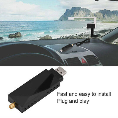 New USB DAB+Digital Radio Receiver Amplified Aerial Antenna for Car Android Part
