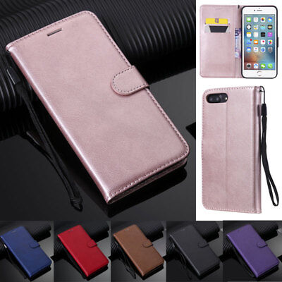 For iPhone SE 5 5S 6 6S 7 8 Plus X XR XS Max Book Wallet Leather Flip Cover Case