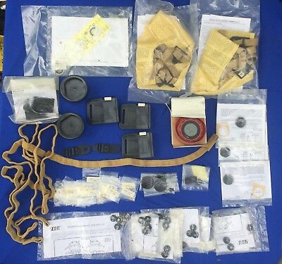Large Lot of New Old Stock  Scott Air Pack Repair Parts See Photos and Part #'s