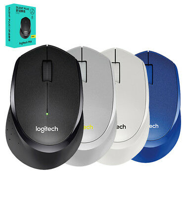 Logitech M330 Silent Plus Click Wireless Mouse Quiet Officework 10m PC Laptop