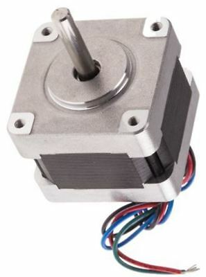 RS Pro Hybrid, Permanent Magnet Stepper Motor 1.8°, 0.21Nm, 9 V, 600 mA, 4 Wire