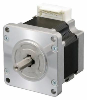 Sanyo Denki Unipolar Single Shaft Stepper Motor 1.8°, 2.1Nm, 24 V dc, 2 A, 6 Wi