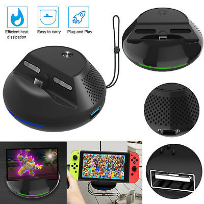 TV Switch Converter Charging Dock Stand + PCB Board for Nintendo Switch Console