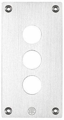 Schneider Electric Harmony XAP Push Button Enclosure, 3 Hole, 22mm diameter None