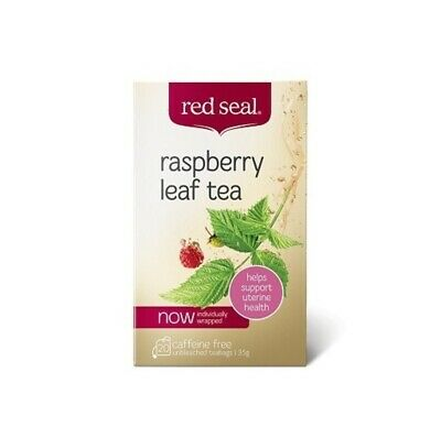 New Red Seal Raspberry Tea Leaf 20 Tea Bags