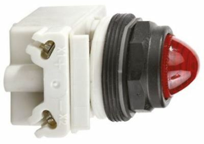 Schneider Electric Harmony 9001SK Red Incandescent Pilot Light, 30mm Cutout, IP6