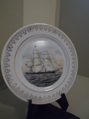 """Clipper Ship """"flying Cloud"""" Collector Plate Currier & Ives"""