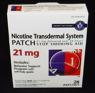 Habitrol Nicotine Transdermal System Patch 21 Mg Step 1 - 28 Count, 1-Each