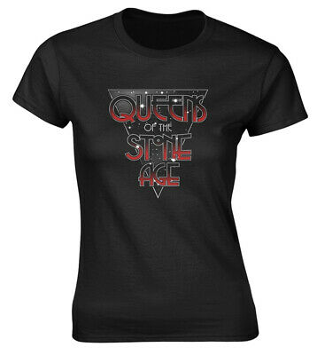 Queens Of The Stone Age 'Retro Space' Womens Fitted T-Shirt - NEW & OFFICIAL!