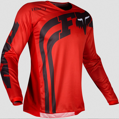 Fox Racing Kids Boys Girls Youth Red 180 Cota Off Road Jersey Dirt Mx S M L Xl