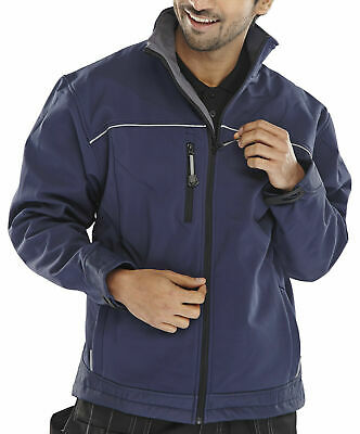 Click Soft Shell Jacket (High Stretch Water Resistant Breathable ) -- Ssj