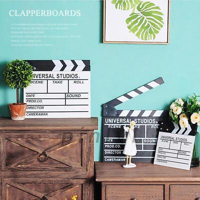 Wooden Directors Clapper Board Clap Clapperboard Film Movie Action Scene Board