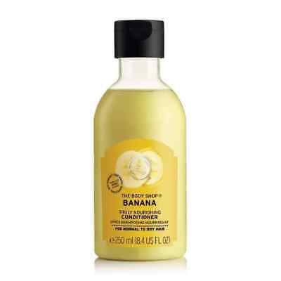 New Vegetarian The Body Shop Banana Truly Nourishing Conditioner