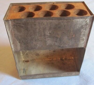 Civil War .58 Cal. Cartridge Box Tin Converted for Use with the M1865 1st Allin
