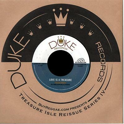 "FREDDIE McKAY * Love Is A Treasure + LIZZY * Love Is A Treasure  7"" neu"